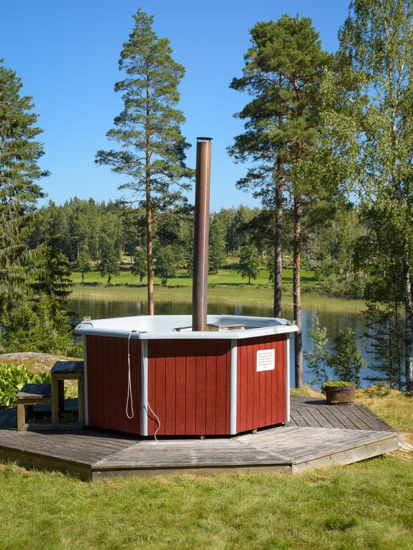 Angelreisen Schweden 7083 Hot-Tub
