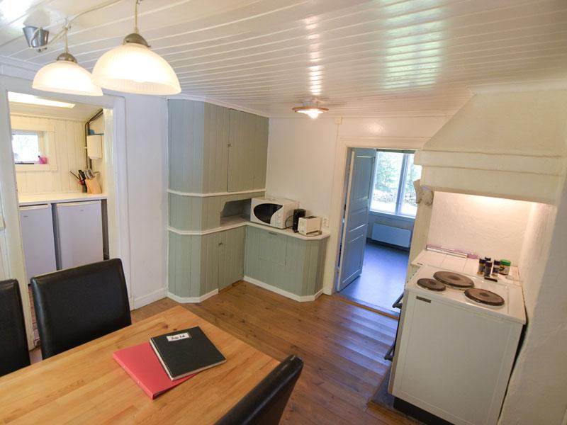 Angelreisen Schweden 7083 Küche