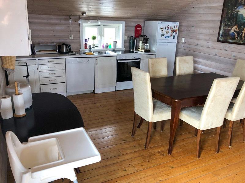 Angelreisen Norwegen 41250 Seehaus Karl Küche