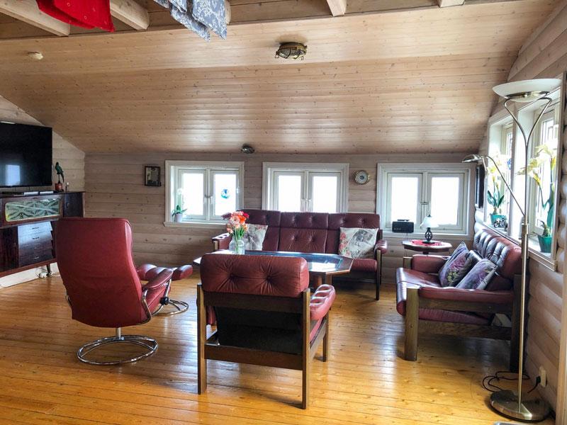 Angelreisen Norwegen 41250 Seehaus Karl Sitzgelegenheit