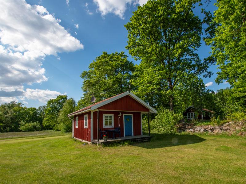 Angelreisen Schweden 7051 Ferienhäuser Urshult Ansicht