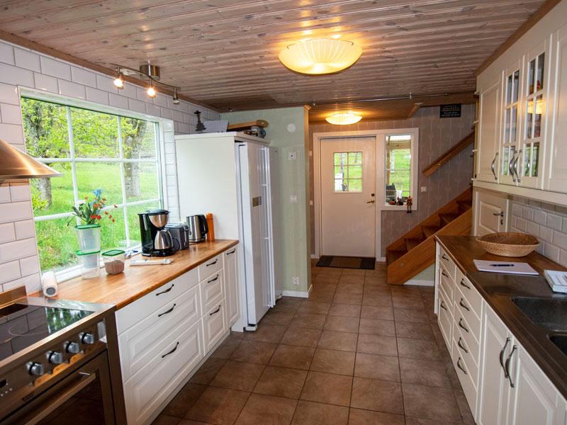 Angelreisen Schweden 7071 Nygård Küche