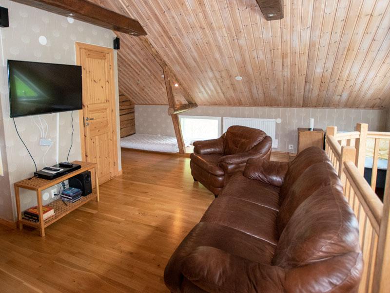 Angelreisen Schweden 7071 Nygård Wohnbereich Dachgeschoss